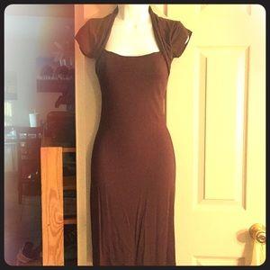Zara Short sleeve midi dress